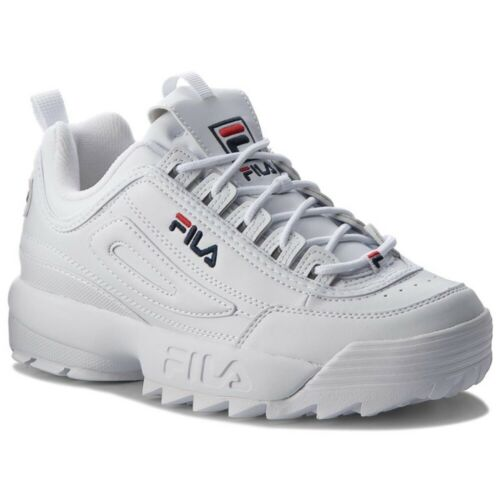 FILA DISRUPTOR LOW scarpe donna ragazzo sportive sneakers running basket pelle