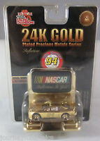 24k Gold Nascar Bill Elliot 1999 Racing Champions Inc Limited 1 Of 4,999