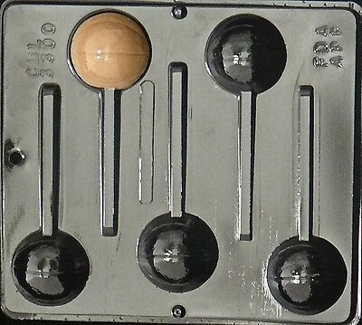 Basketball Lollipop Chocolate Candy Mold  3300 NEW