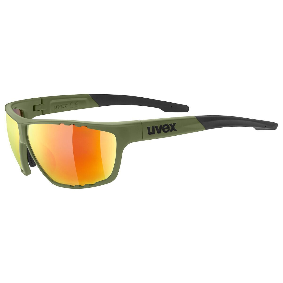 Uvex Sportstyle 706 Fahrrad Brille olive green