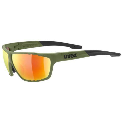 Uvex Sportstyle 706 Fahrrad Brille olive grün