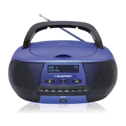 Blaupunkt BD400 Boombox mit Digital Radio DAB RDS AUX IN USB Kinder CD Player