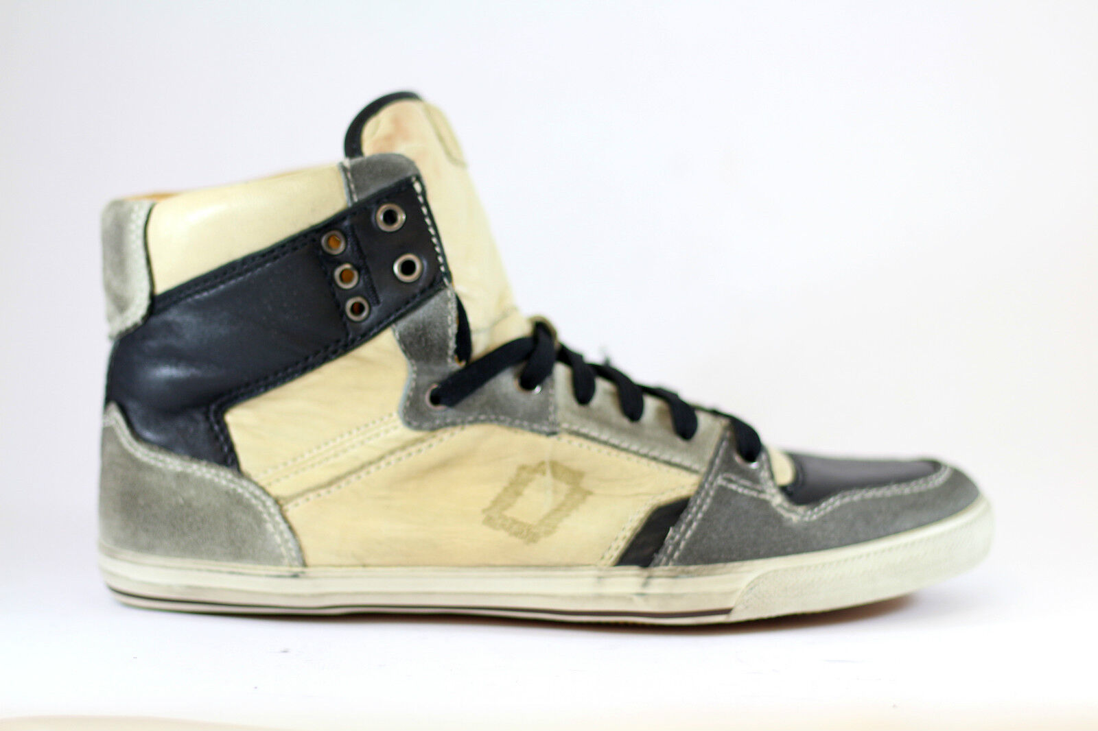MONO leather high top sneakers - sneakers alte in pelle