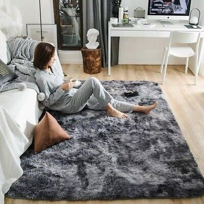 Soft Fluffy Shaggy Area Rugs Large Mat