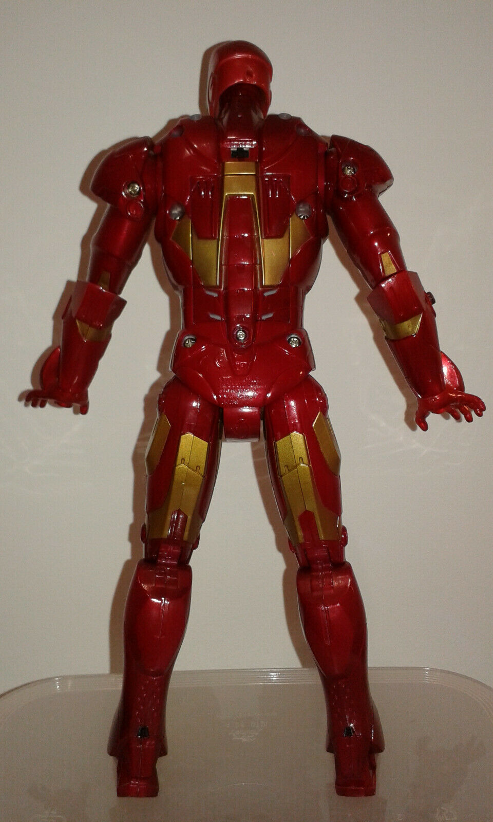 Ironman Action Figure Repulsor Power 12 Inch LARGE Rare    Boxed STARK Avengers 6a0cce