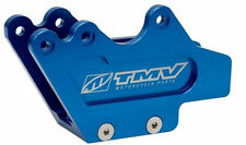 YAMAHA YZ 125 250 250F 450F TMV BLUE ALUMINUM SWINGARM LOWER CHAIN GUIDE BLOCK