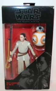 Hasbro Star Wars B3836 The Black Series - Rey (Jakku) & BB-8