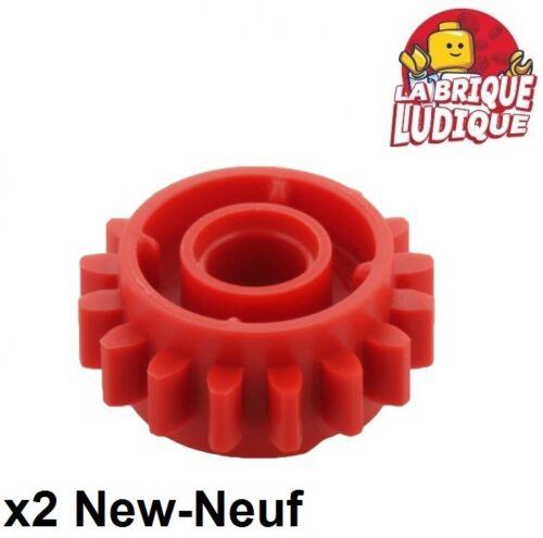 LEGO Bau- & Konstruktionsspielzeug 2x Getriebe Zahntrieb Getriebe 16 Zahn clutch rot/rot 18946 neu Lego TECHNIK