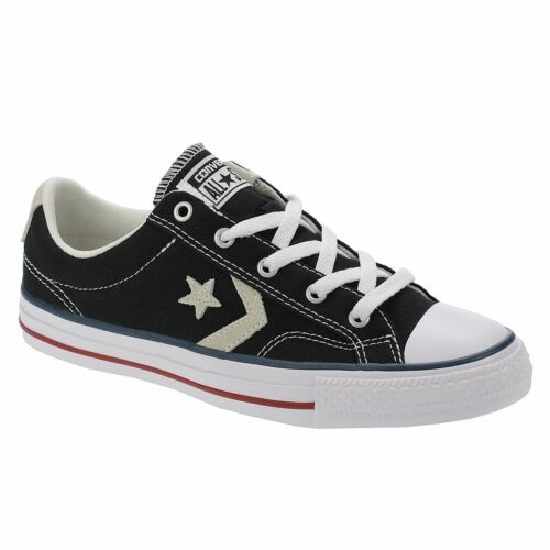 Converse Star Player Ox Mens Trainers Black White Shoes 8 UK