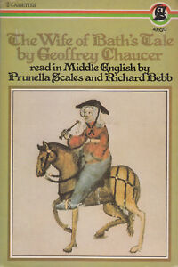 The-Wife-Of-Bath-039-s-Tale-Geoffrey-Chaucer-2-Cassette-Audio-Book-Prunella-Scales