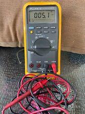 Fluke 87 True Rms Multimeter With Leads