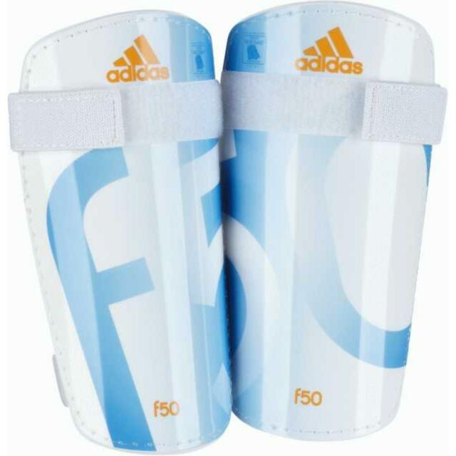defa5a210 adidas F50 Lite Shinguards Greaves Protection White M G84070 for ...