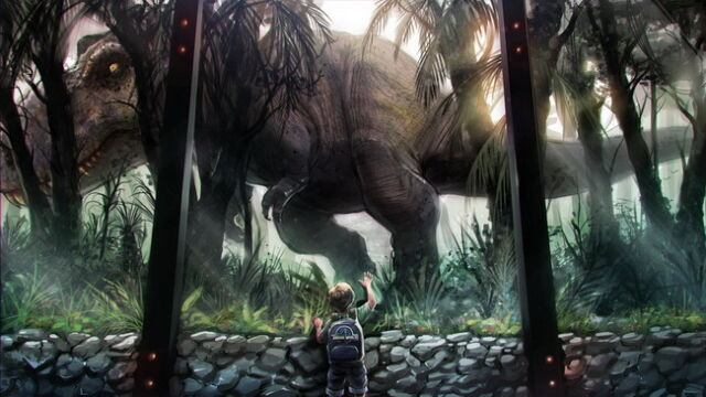 Jurassic park collection on ebay 001 jurassic world upcoming science fiction adventure film 25x14 poster gumiabroncs Images