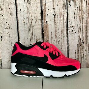 NIKE-AIR-MAX-90-LTR-Racer-Pink-Black-White-833376-600-Youth-Size-5-5Y