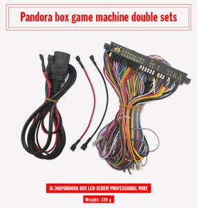 Jamma-Mame-Cabinet-cablage-harnais-loom-Multicade-Arcade-Jeu-Video-Carte-De-Circuit-Imprime-Cable
