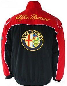 Jacket Blouson Jaquette Alfa Romeo Racing Team All Logo In Brodery