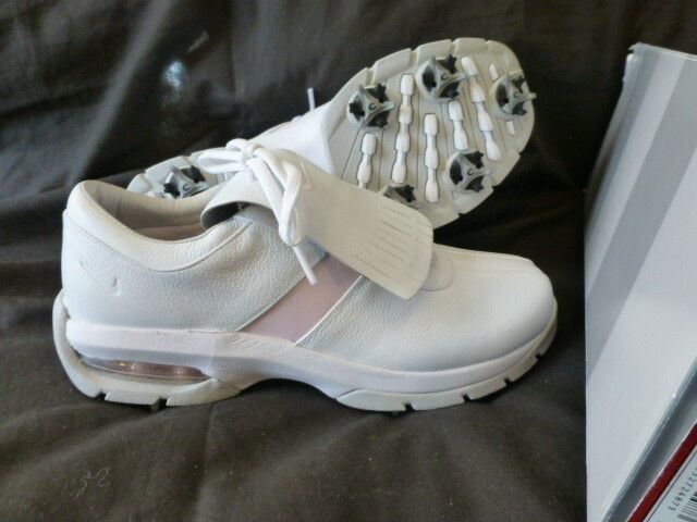 WOMENS NIKE WHITE ICE PINK WMNS SP-LS GOLF SHOES US 7.5 M 139