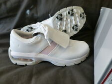 WOMENS NIKE WHITE ICE PINK WMNS SP-LS GOLF SHOES US 7.5 M UK 5 9