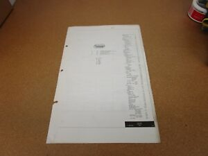 Astonishing Original 1973 Mercury Capri Wiring Diagram Sheet Schematics Service Wiring Database Numdin4X4Andersnl