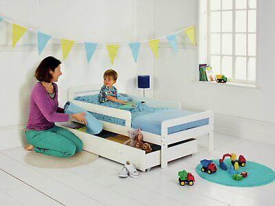 Argos Home Ellis White Toddler Bed