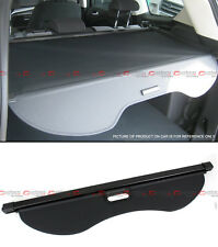 For 2017 18 Ford Escape Tailgate Trunk Retractable Cargo Cover Luggage Shade Blk