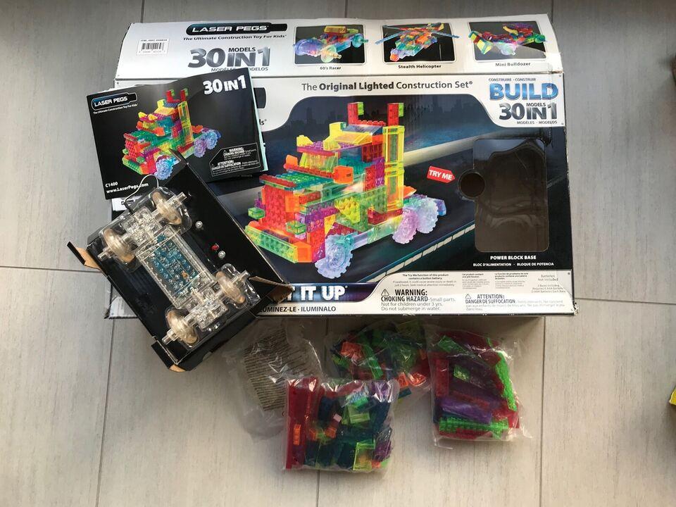 "Lego andet, Laser Pegs - ""lego"" med lys"