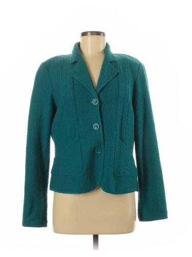 Mainbocher Women Green Wool Cardigan M