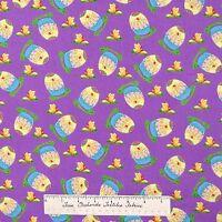Easter Fabric - Hallmark Occasions Eggs Butterfly Purple - Free Spirit Yard