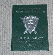 USMC 2008 Basic Officers Training School Yearbook Charlie Company Quantico VA