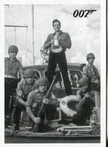 James Bond 50th Anniversary Series 1 Dr No Throwback Movie Card #107