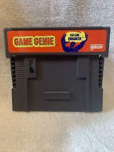 Game Genie Video Game Enhancer By Galoob Super Nintendo SNES Model 7353 Tested!