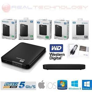 HARD-DISK-ESTERNO-2-5-500-750-1TB-2TB-3TB-WESTERN-DIGITAL-USB3-0-AUTOALIMENTATO