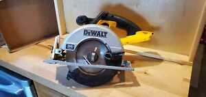 Dewalt-36 Volt DC 300 Circular Saw {pre-owned}may have markings-works good