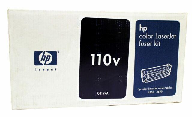 HP C4197A Fuser Kit Color LaserJet 4500 Genuine New Sealed Box