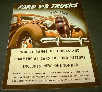 FORD 1932 TRUCK /& Commercial Car Sales Brochure Pick Up