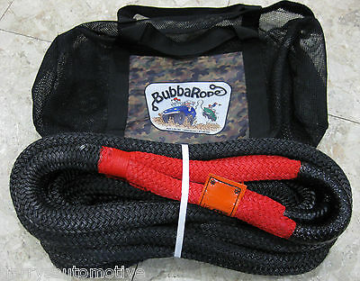 Bubba Rope 7/8 X 30 Nylon Fiber Double Braid Tow Recovery 4X4 Snatch Strap