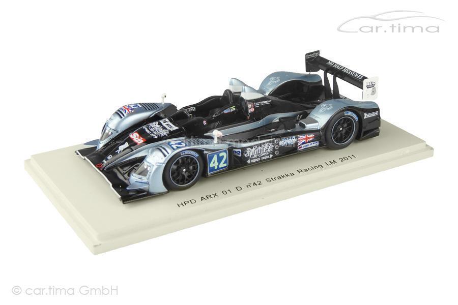 HPD Arx 01 D - 24h Le Mans 2011-Leventis watts Kane-spark - 1 43