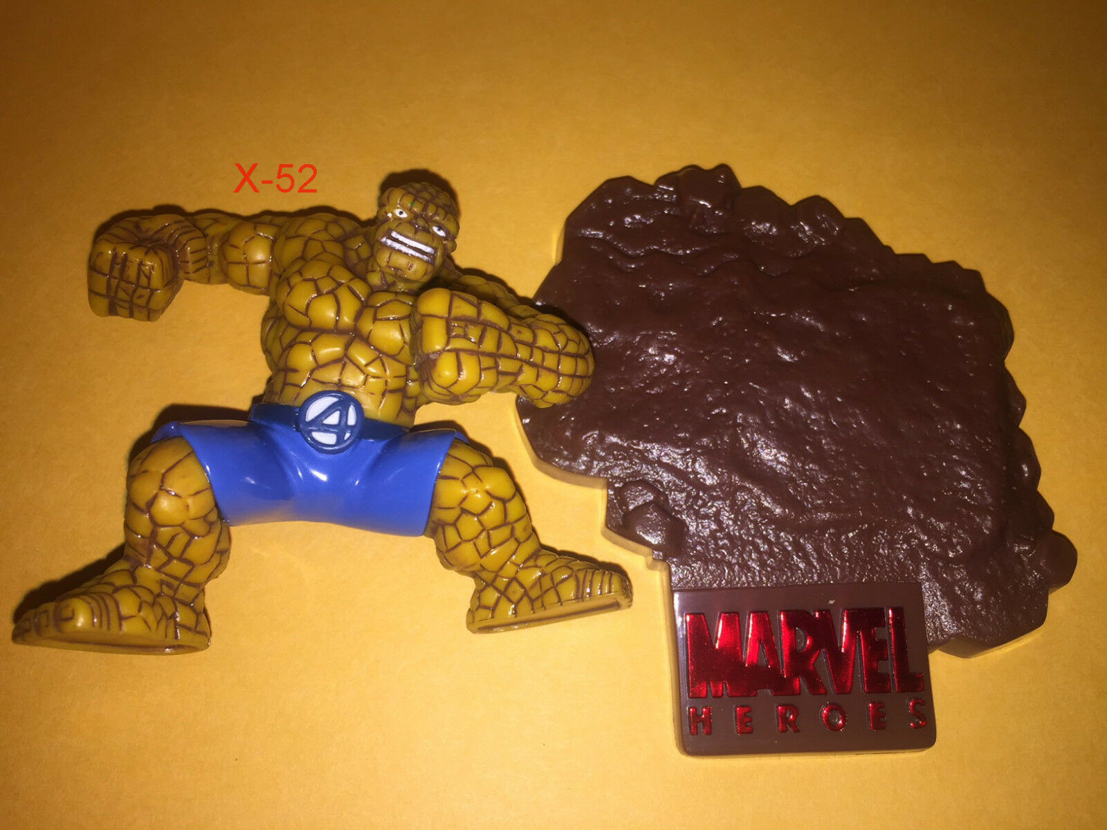 THE THING THING THING fantastic four MARVEL TITANIUM discast metal TOY figure ben grimm 4 FF 6e739f