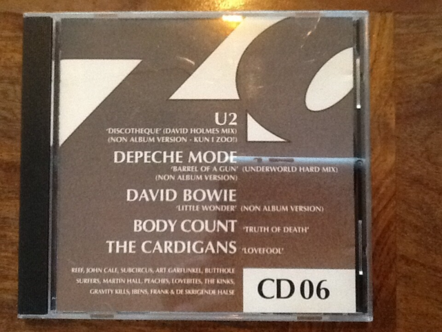 Diverse; U2, Depeche Mode, David Bowie: Zoo Magazine CD…