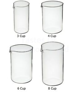 La-Cafetera-Repuesto-Reemplazo-Calor-Prueba-Borosilic-Cristal-Embolo-Cafe-Jarra