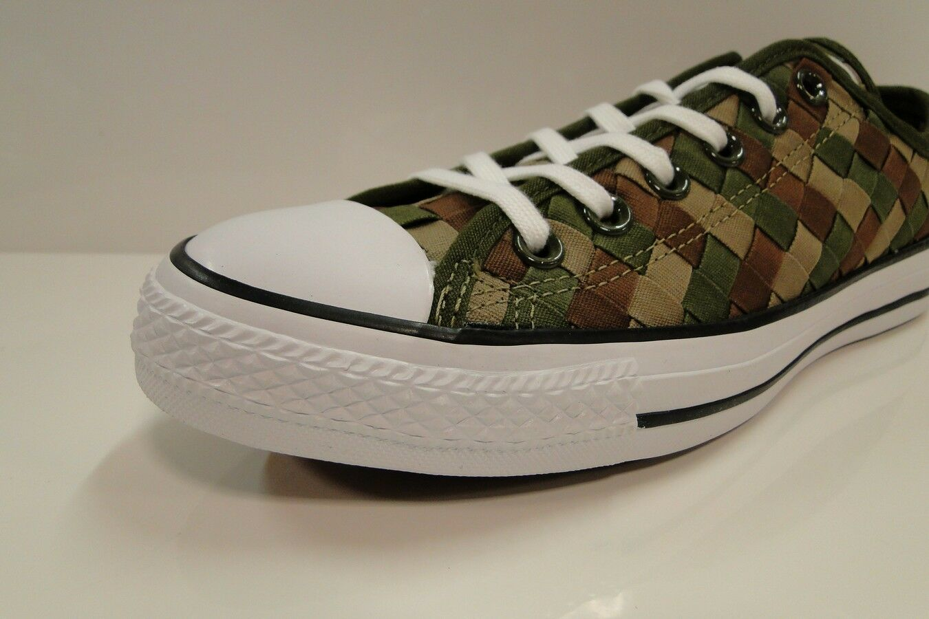 CONVERSE CT All Star OX woven 151242C HERBAL/KHAKI Unisex Trainers mens 7 wmns 9