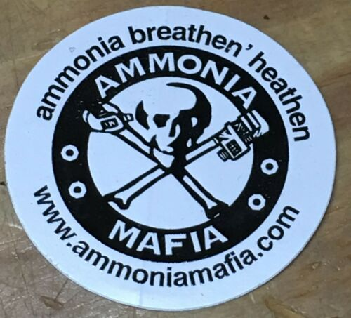 "Ammonia Mafia Hard Had Sticker 2-1//2/"""