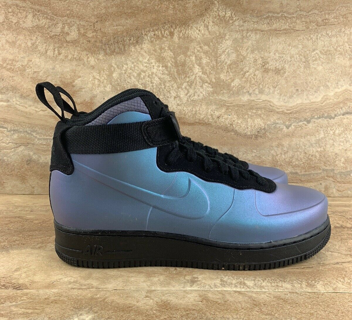 Nike Air Force 1 Foamposite Cup AF1 Light Carbon Mens Sneakers