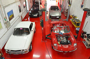 1968 Alfa Romeo 1750 First Serie Bolt and Nuts Restoration - Test and Expertise