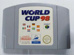 World Cup 98 (N64) - PAL
