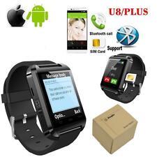 U8/PLUS Sports Bluetooth 3.0 Smart Watch with Remote Camera Supproot SIM Card