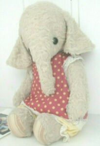 One-of-a-Kind-Kuenstler-Elefant-LOLA-von-Guzel-Kostyna-25-cm-Bulgarien