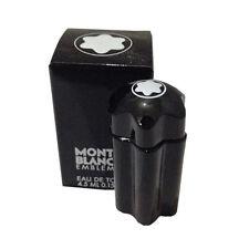 mini Mont Blanc Emblem .15 oz EDT Cologne for Men Tester