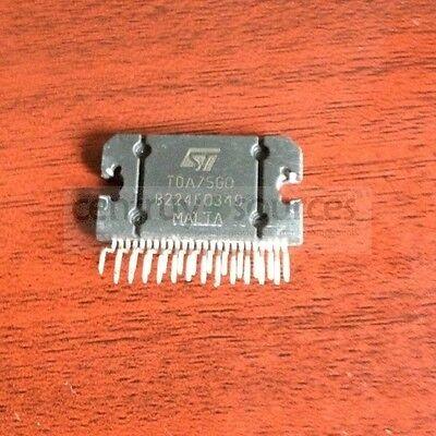 1PCS TDA7560 St ZIP-25 4x45W Quad puente Amplificador de radio de coche Plus