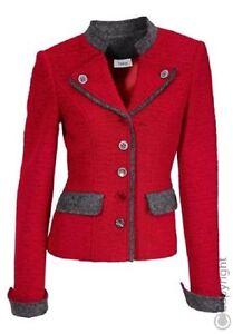 Veste Walkblazer Traditionnelle Veste Heine Rouge Nouveau 42 40 Blazer 36 34 5wSwtqEF
